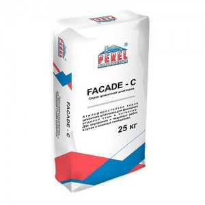 ШПАТЛЕВОЧНАЯ СМЕСЬ PEREL HC FACADE - C 0650