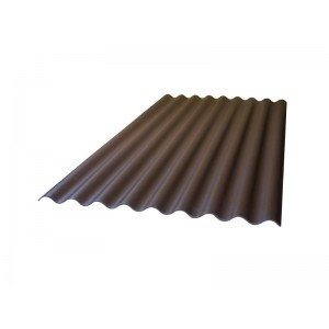 Лист Керамопласт коричневый 2000х900х4,5