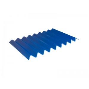 Черепица Тетон синяя 560х870х4,5