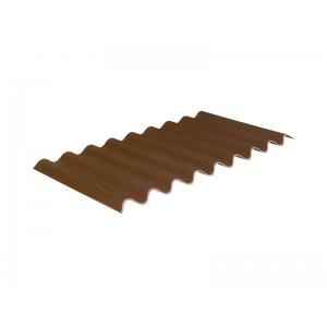 Черепица Керамопласт коричневая 500х900х4,5