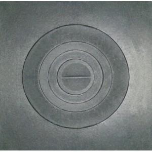 Плита чугунная 1-конф. П1- 5, 512*512 под казан (РУБЦОВСК)