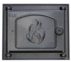 Дверца топочная 350 LK, 210х250, глухая
