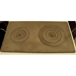 Плита чугунная большая Ш114-000; 710х400х15 мм; 21,15 кг
