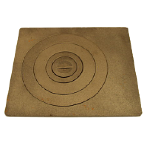 Плита чугунная малая Ш96-000; 400х340х15 мм; 10,95 кг