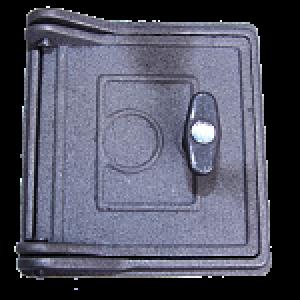 Дверка топочная ДТ-10 Ш99-200; 160х150х74 мм; 2,5 кг